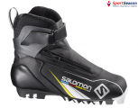 Ботинки лыжные SALOMON COMBI JUNIOR 17/18 PILOT 391332